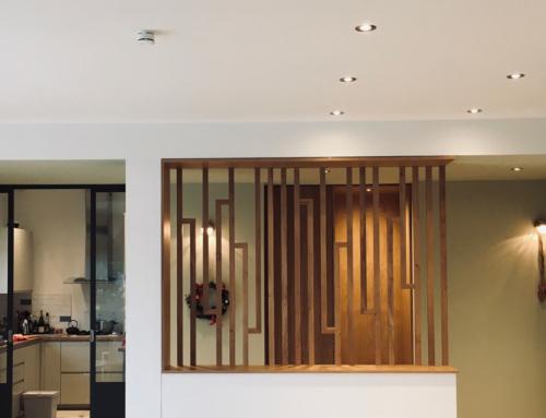 Création d'une entrée et rénovation d'une cuisine